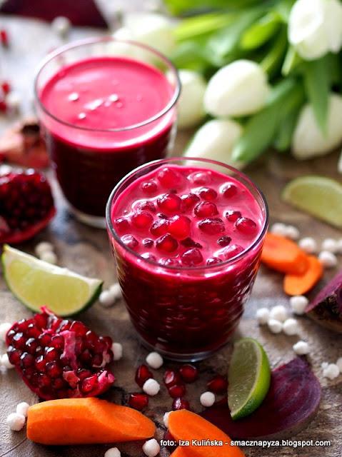 sok warzywno owocowy z tapioką , napój z warzyw i owoców , tapioka , kuleczki tapioki , bubble juice , samo zdrowie , zdrowie w szklance soku , orzeźwiający sok , napoje , witaminy