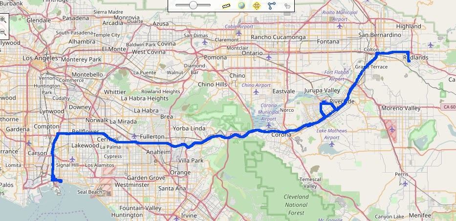 Bmw K 1600 Gt Blog 20161119 California Group Ride To