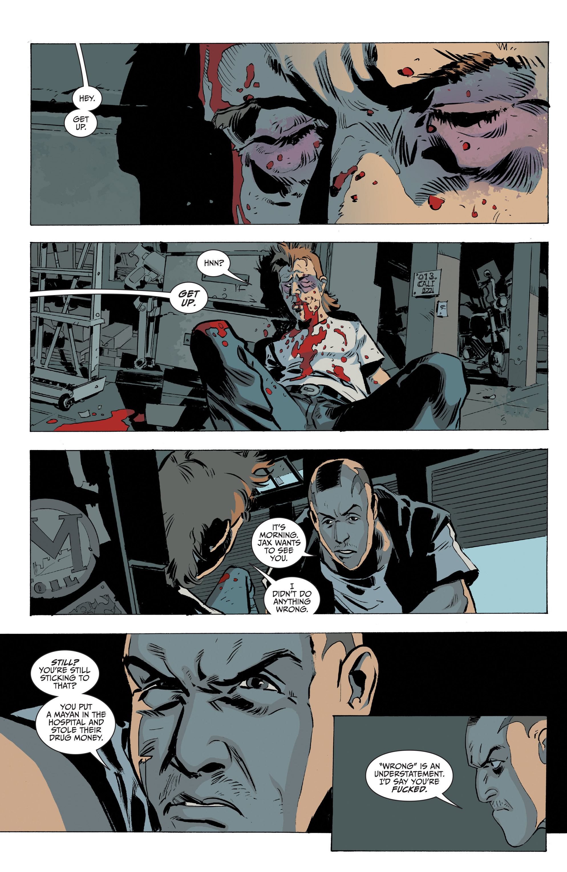 Read online Sons of Anarchy comic -  Issue #20 - 3