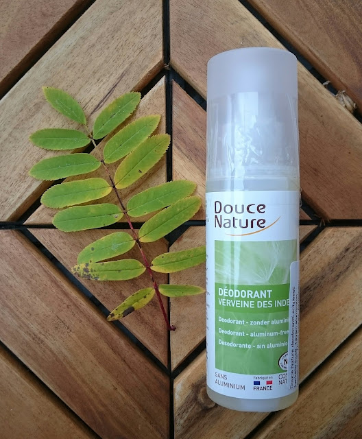 douce nature spray deodorant luomu organic