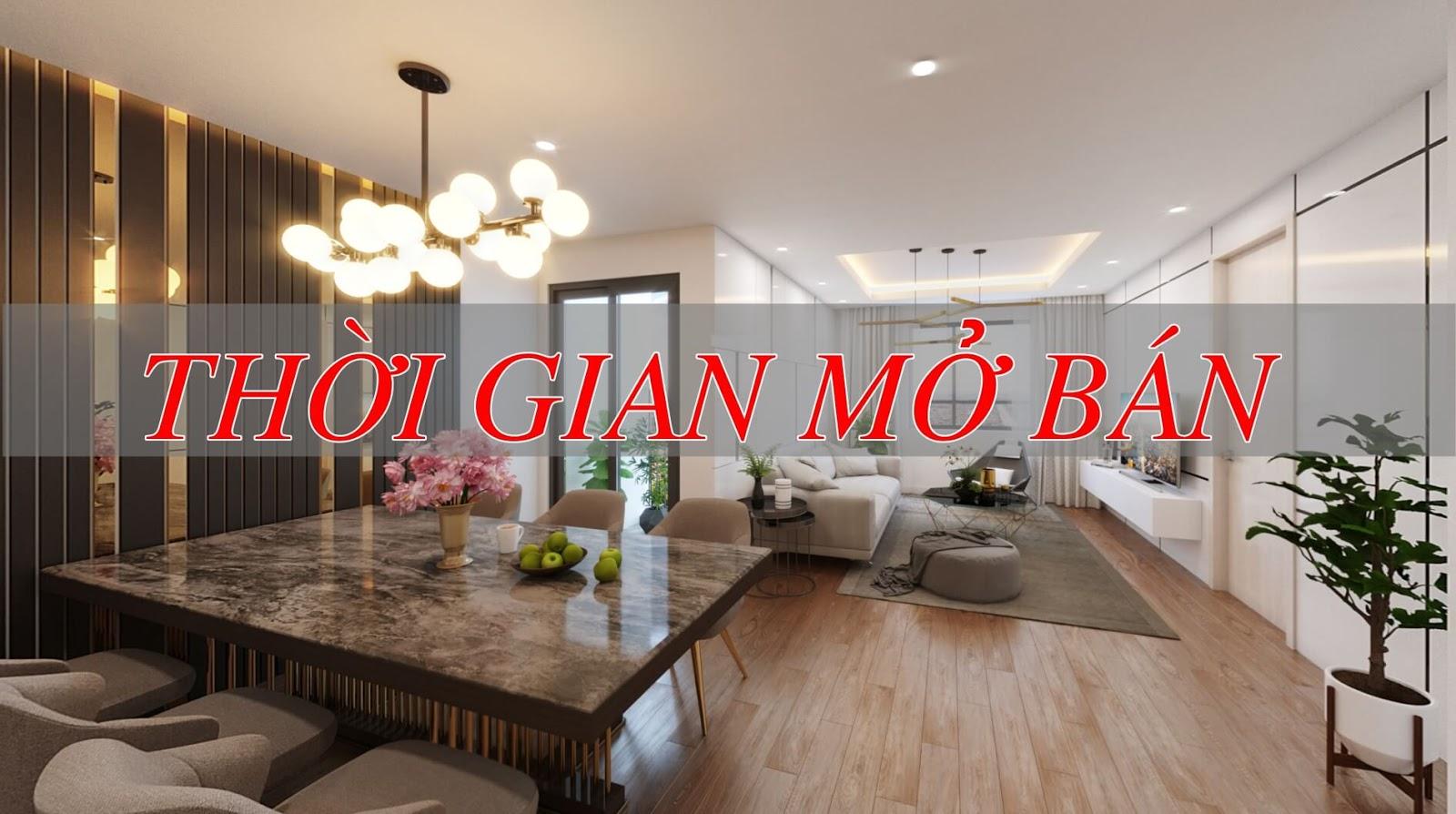 Lịch mở bán chính thức khu căn hộ cao cấp Phương Đông Green Park