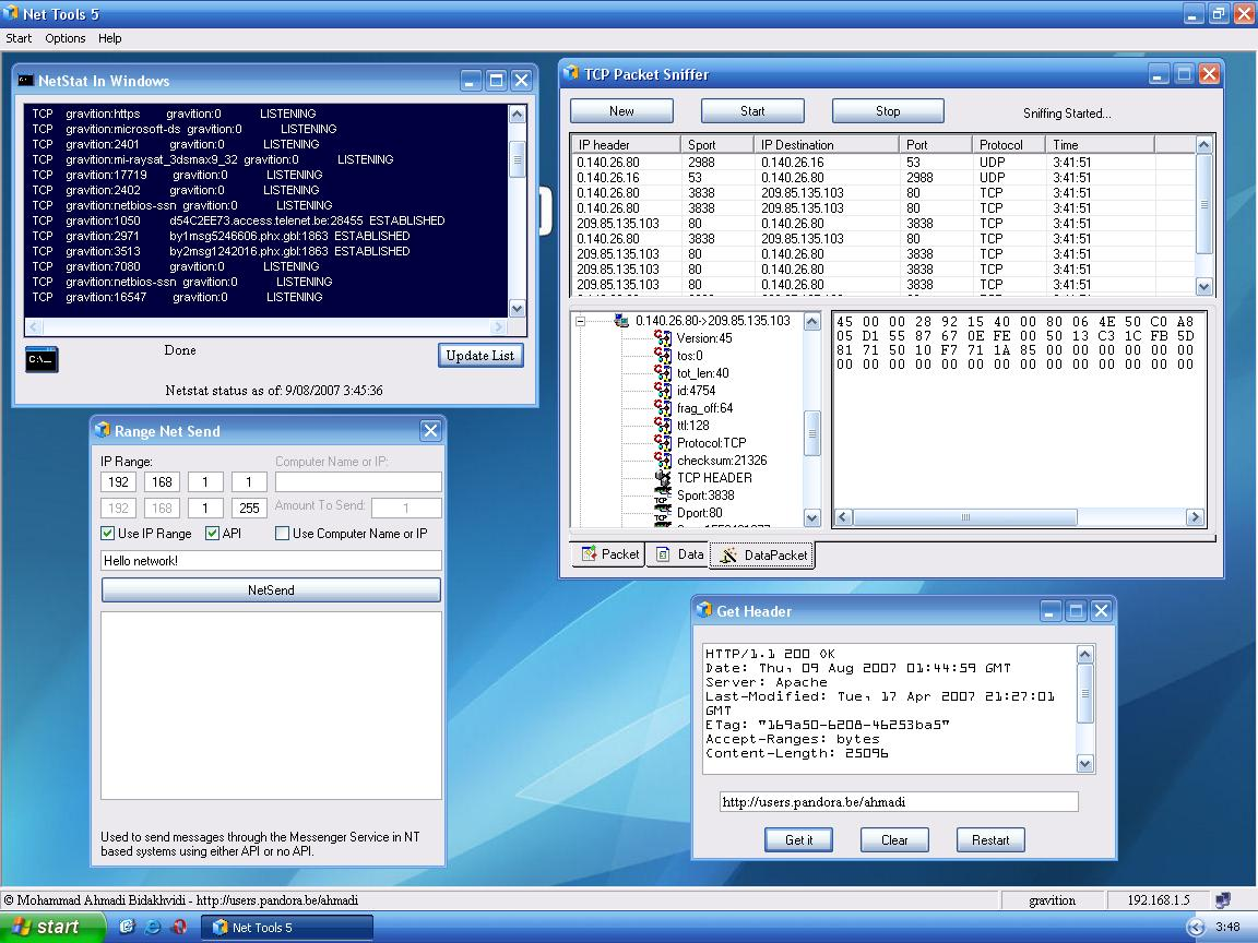 Solved: NetTools Scanner Download