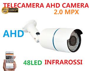 telecamera ahd 2mp