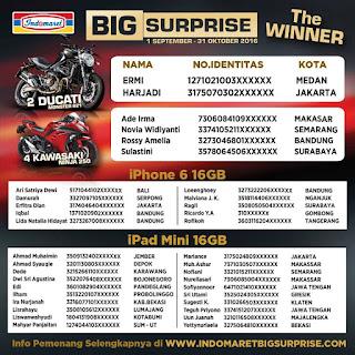 info pemenang lomba