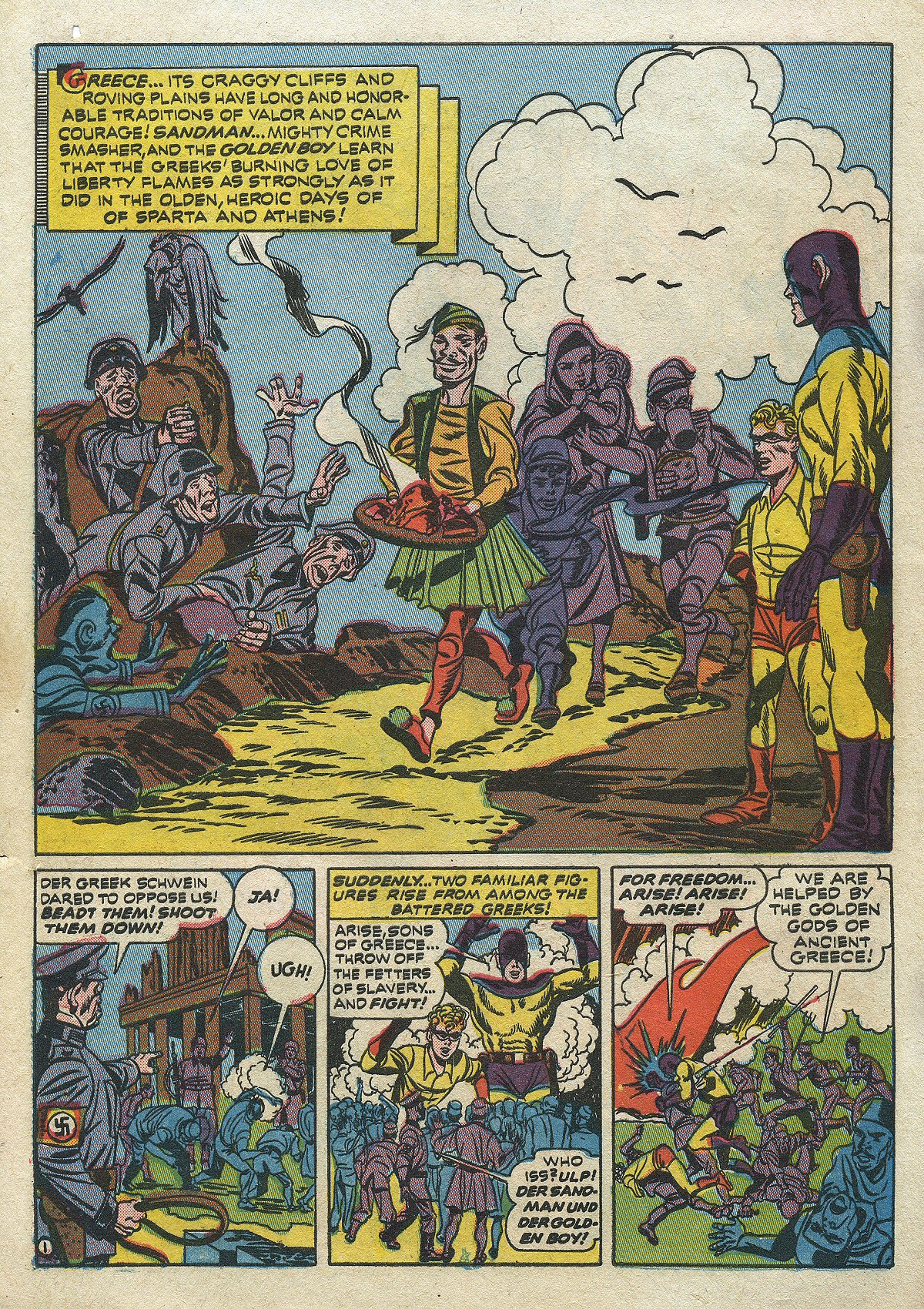 Read online All-Star Comics comic -  Issue #14 - 57