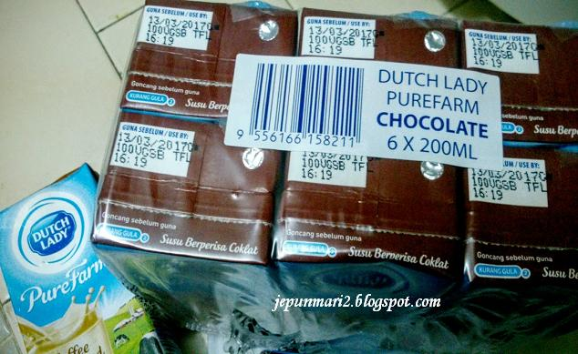 Susu Kotak Dutch Lady Promosi RM1 di 7 Eleven