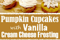 Pumpkin Cupcakes with Vanilla Cream Cheese Frosting – Keto, Low Carb & Gluten Free
