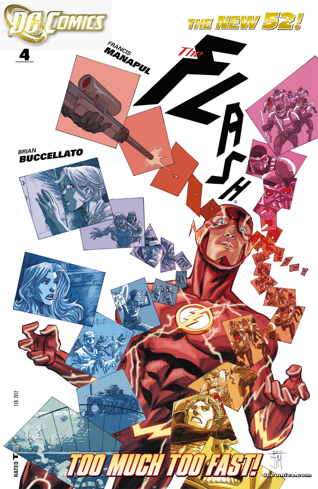 The Flash (2011) issue 4 - Page 1