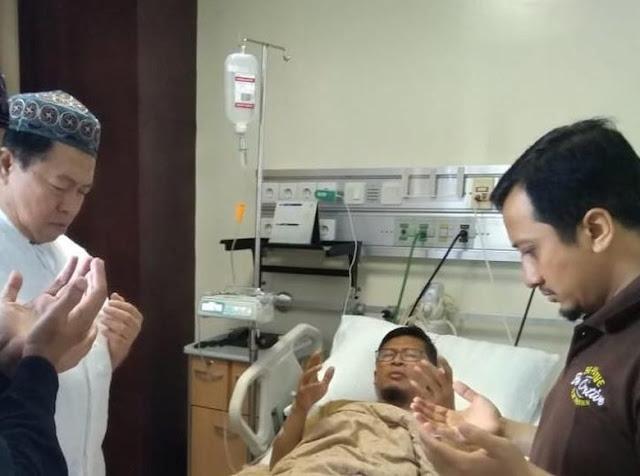 Aa Gym Terbaring di Rumah Sakit, Ustadz Yusuf Mansur Jelaskan Penyakit yang Diderita Aa Gym