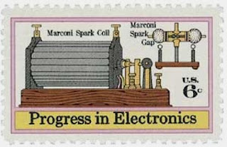 British-Italian engineer Guglielmo Marconi obtains a patent for radio in London US