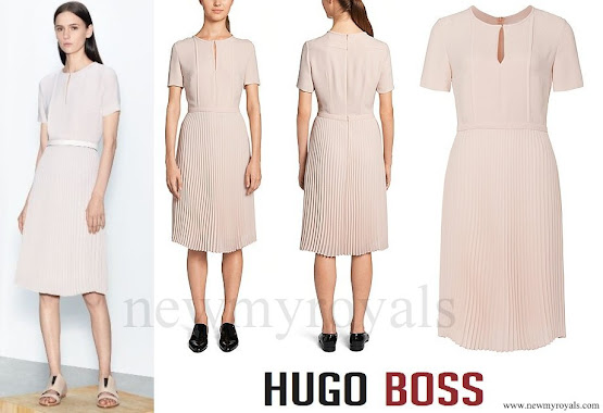 Princess Sofia wore HUGO BOSS Diblissea Dress