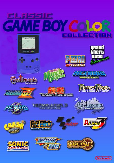 Super Pack de Roms de Game Boy Color em Português e Ingles