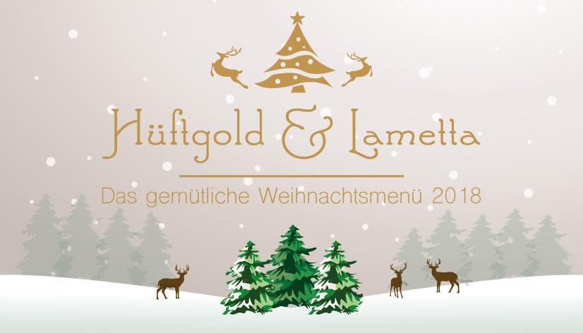 Hüftgold & Lametta - das gemütliche Weihnachtsmenü
