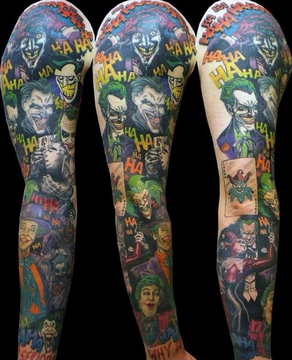 Joker Tattoo Designs For Men Tattoo Designs 2019