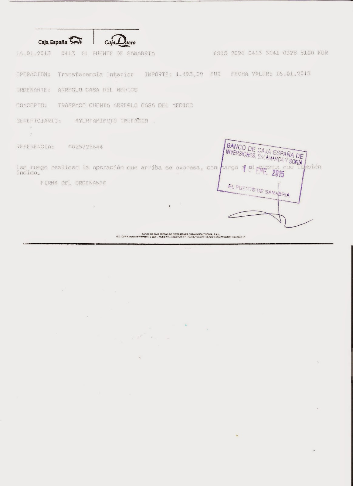Blog personal de Jesús Ramos: LAS CUENTAS DE LA CASA DEL