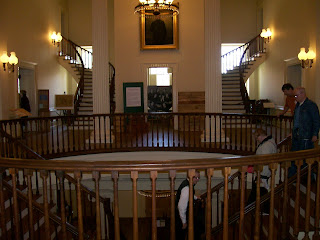 Interior of Old State Capitol in Springfield, Ill.