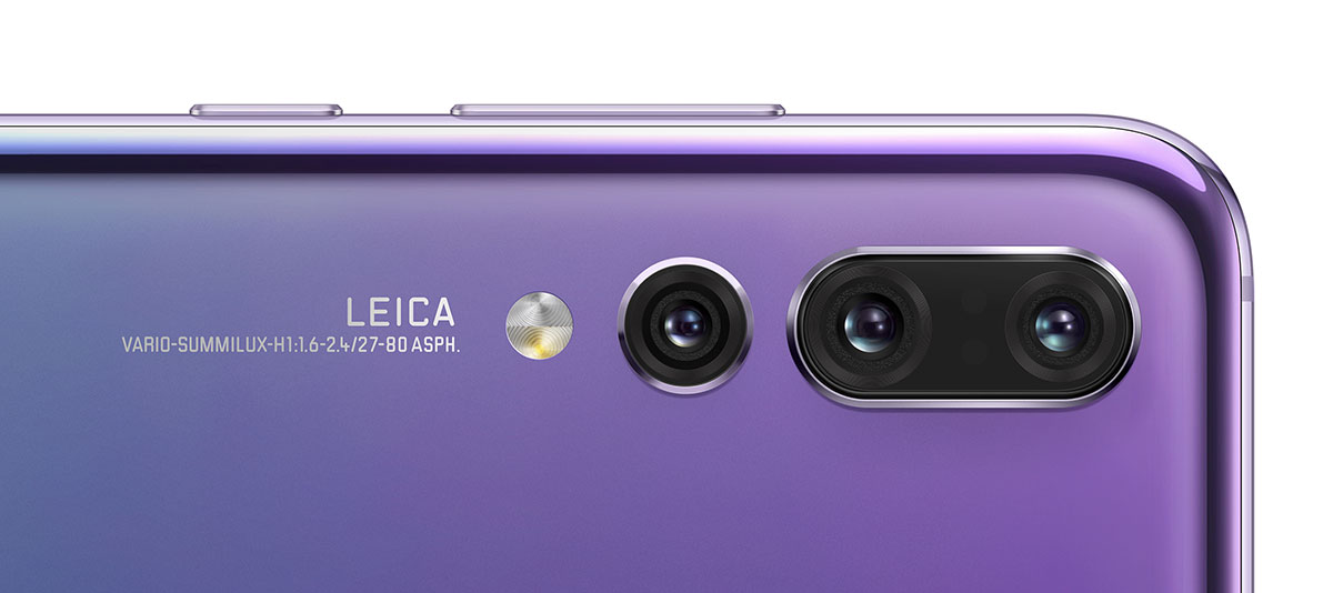 Три камеры Leica на смартфоне Huawei P20 Pro