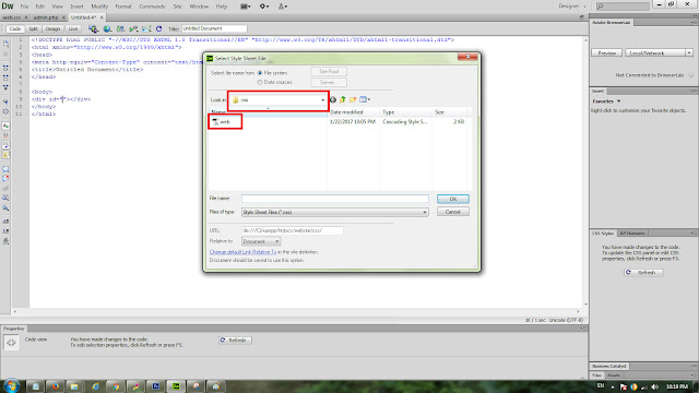 Folder file css