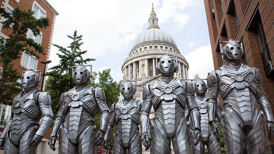 The Cybermen march