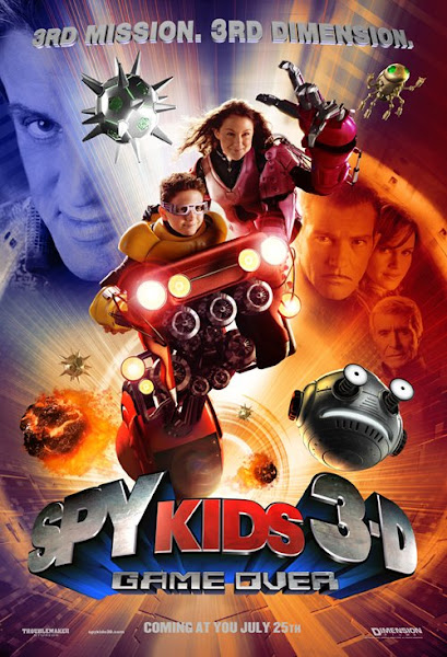 Poster of Spy Kids 3 Game Over 2003 Hindi Dubbed 720p BluRay x264 Download