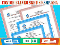 Unduh File Guru Contoh Blanko SKHU SD,SMP,SMA