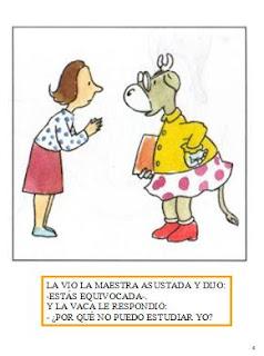 La Vaca Estudiosa Para Colorear Imagen Linda De La Vaca