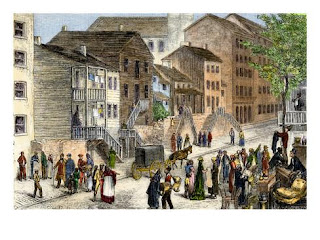 Negro quarter in Cincinnati, 1880
