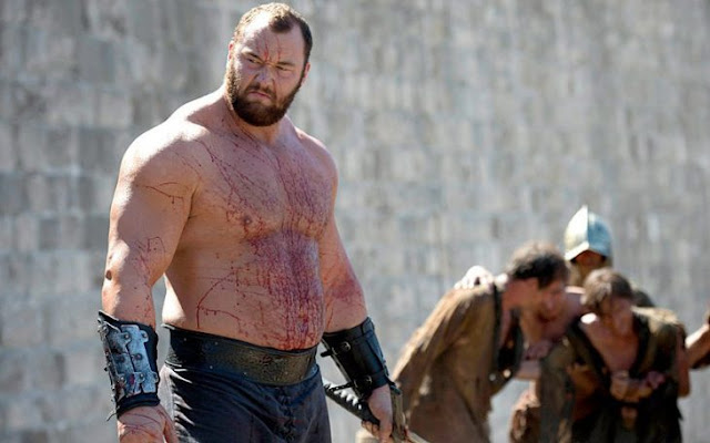 "Este hombre que derrotó a ""The Mountain"" de Game of Throne"