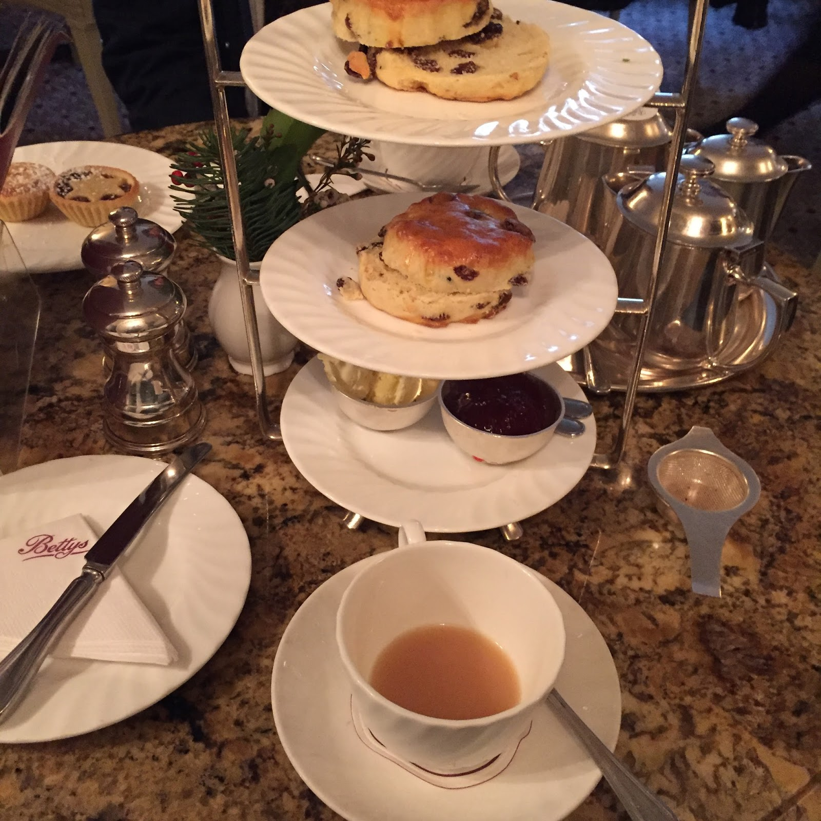 cream tea Bettys