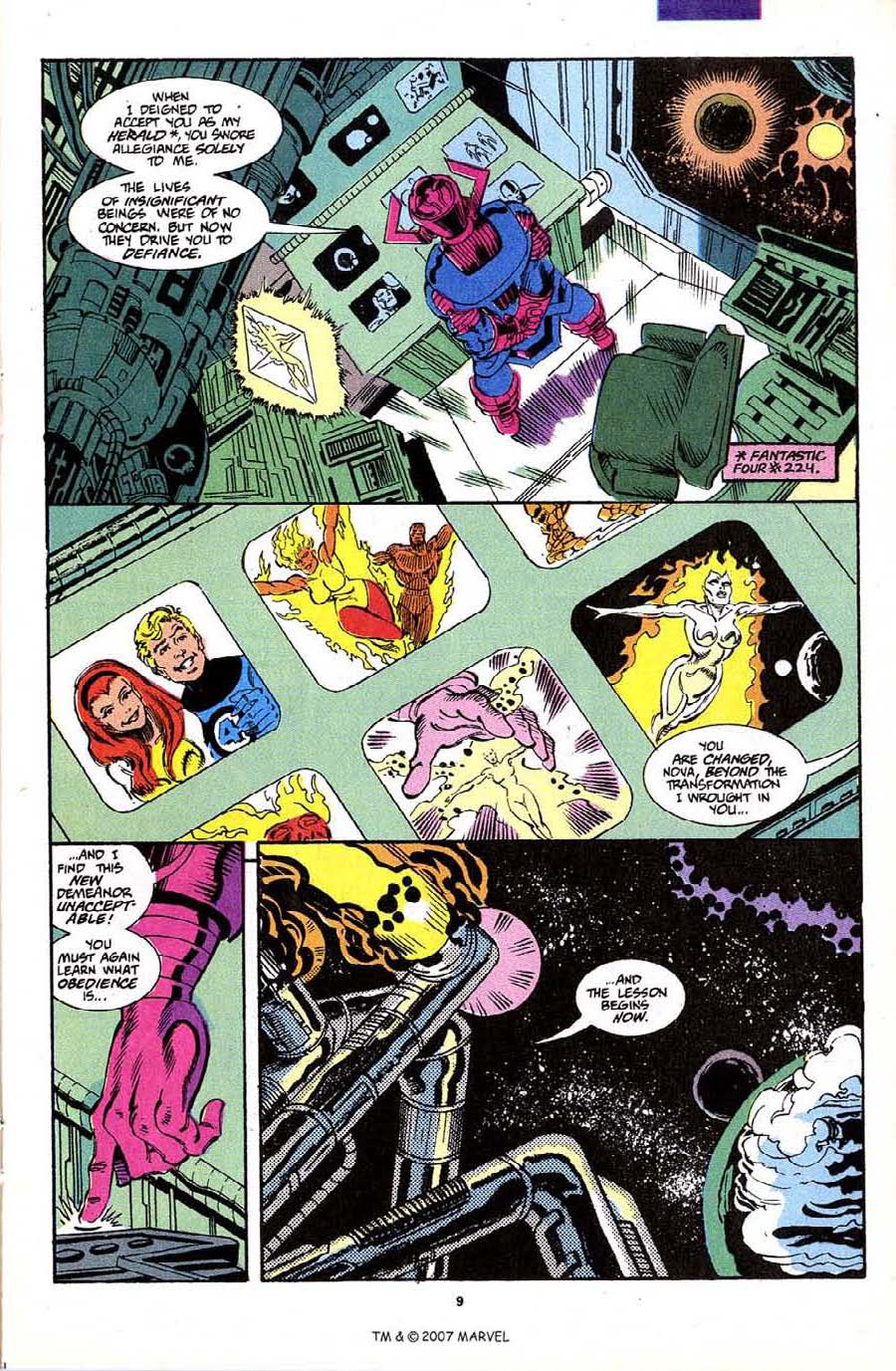 Read online Silver Surfer (1987) comic -  Issue #70 - 11