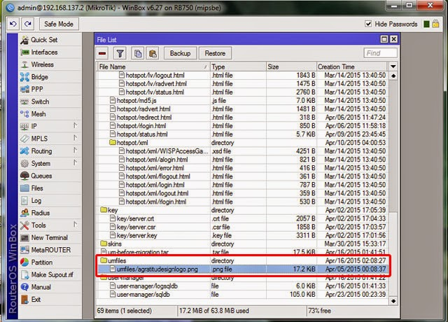 Quota Bandwidth User Manager Hotspot Mikrotik & Voucher Design