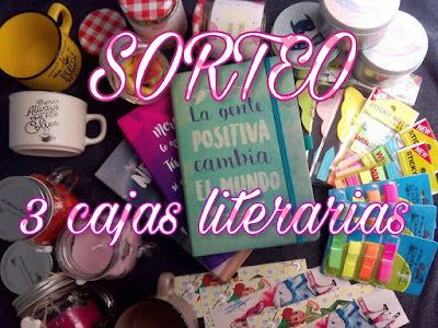 ¡¡SORTEO: 3 CAJAS LITERARIAS!!
