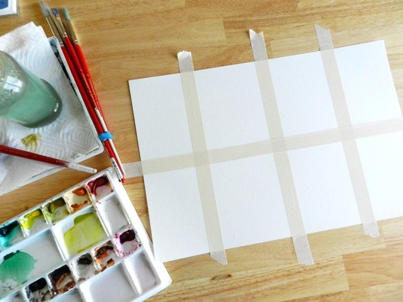 Watercolor Textures Chart