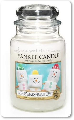 Merry Marshmallow de YANKEE CANDLE