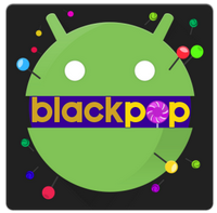 BlackPOP Launcher Theme v1.7 APK