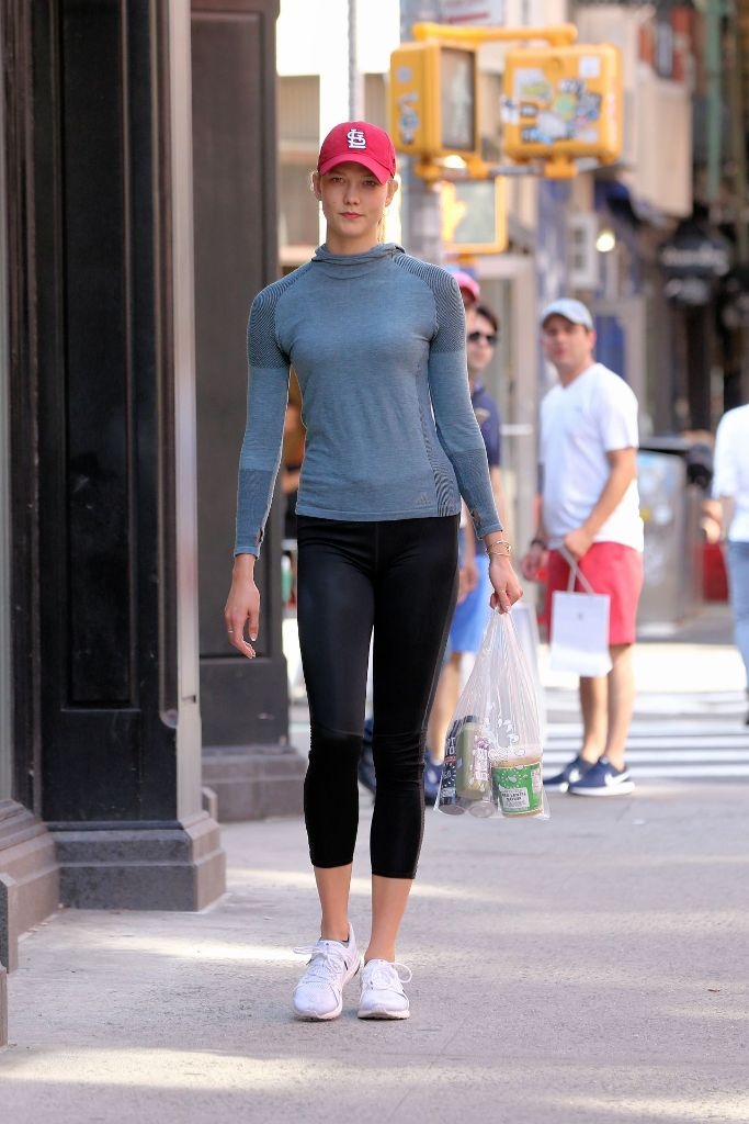 Karlie Kloss High Street Style Out in New York