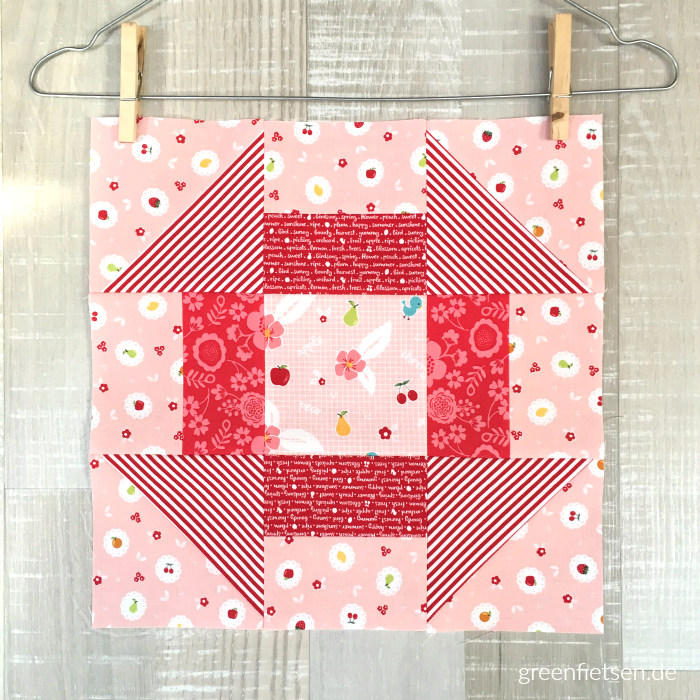 Churn Dash Quilt Block