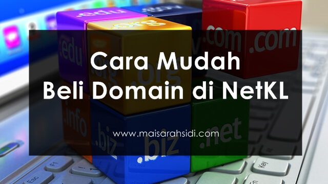 Cara Mudah Beli Domain di NetKL
