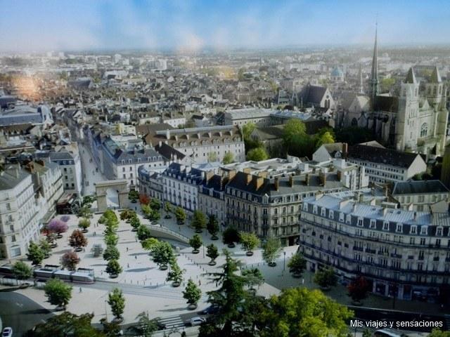 Ciudad de Dijón, Borgoña, Francia