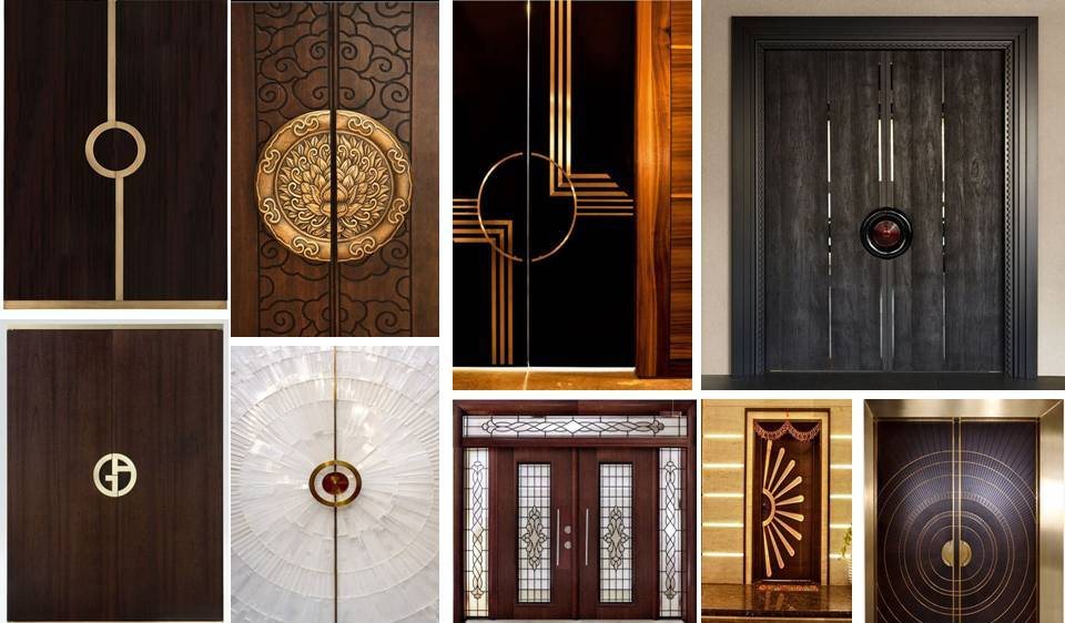 30 modern unique doors designs 2018 decor units for Big main door designs
