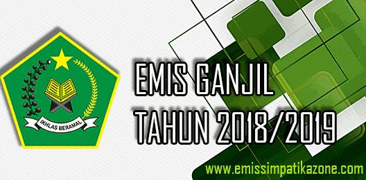 Baru ! Download Form Excel Emis Ganjil 2018/2019 Jenjang MI-MTs-MA Terbaru