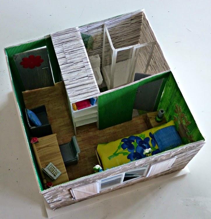 Artplastoc 338 projet variations le corbusier maquettes for Assi dans la fenetre de ma chambre