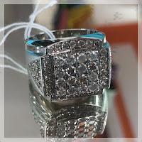 Jual Cincin Berlian Ring Perak
