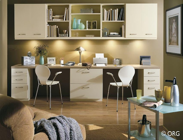 best buy modern white home office wall desk units for two with cabinets ideas