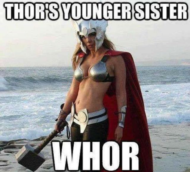 Funny Thor's Younger Sister Whor Picture