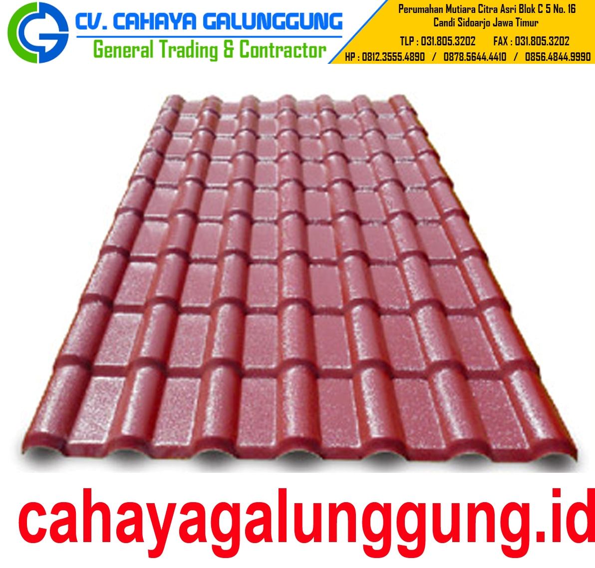 GENTENG METAL ROYAL ROOF