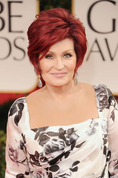 Sharon Osbourne Hairstyle Trends June 2012