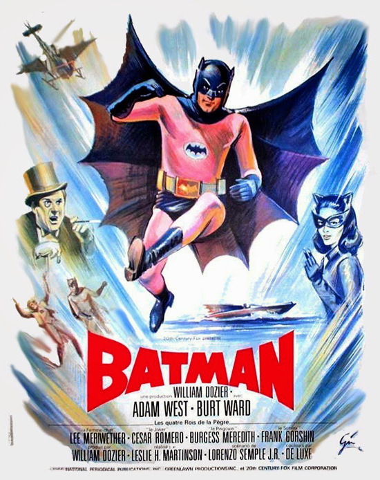 Batman movie 1966 French poster 2-2
