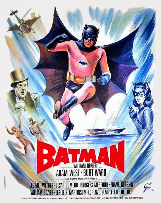 Batman movie 1966 French poster 2-2