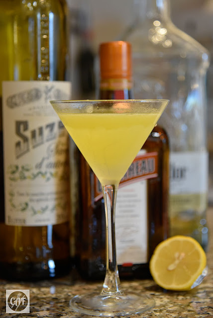 The Corpse Reviver #4: A Suze-Q of a Cocktail by Derrick Reiton